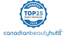 CanadianBeautyHub Most Popular 2018 Award
