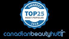CanadianBeautyHub Most Popular 2018 Award